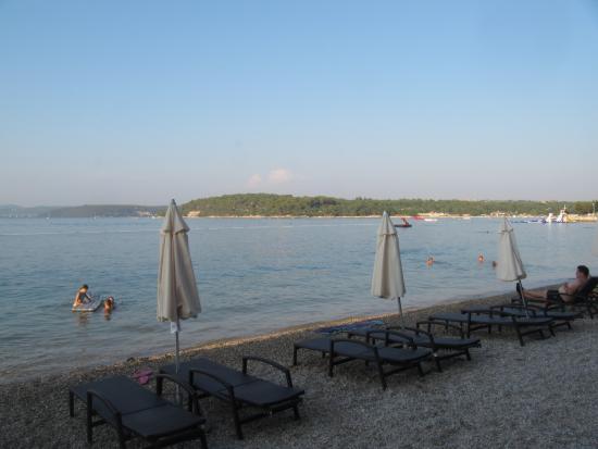 Tar, Croácia: Пляж