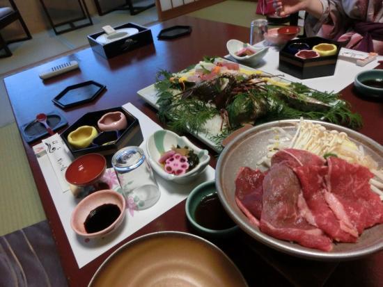 Shinpachiya : 料理(魚介類、肉)