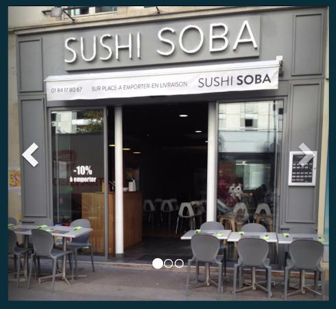 Restaurant Soba Paris