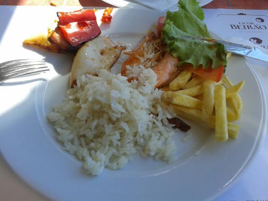 Restaurante Castelinho d'Apúlia: comida