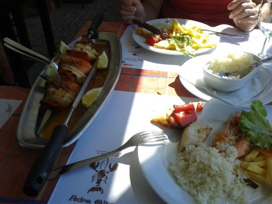 Restaurante Castelinho d'Apulia: comida