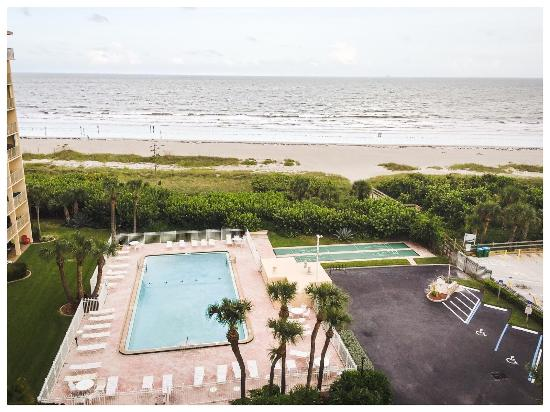 Canaveral Towers Condominiums: 8th Floor balcony view