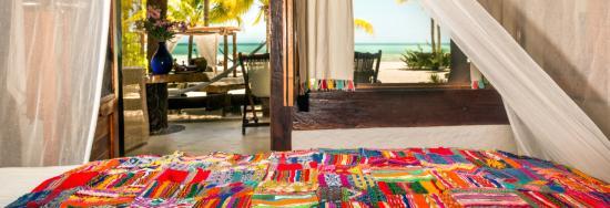 Holbox Hotel Mawimbi: Mawimbi's OCEAN FRONT room