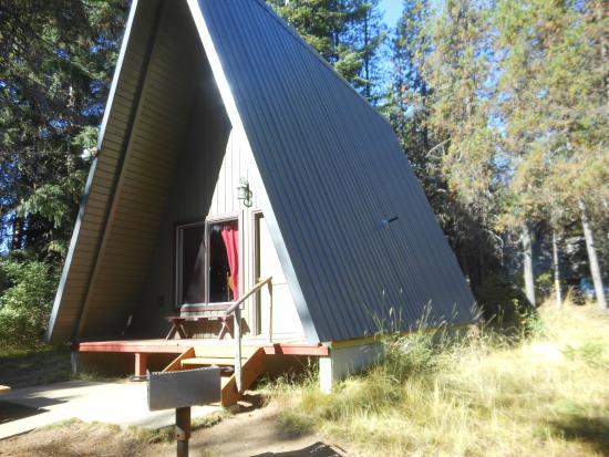 Idleyld Park, OR: Cabin