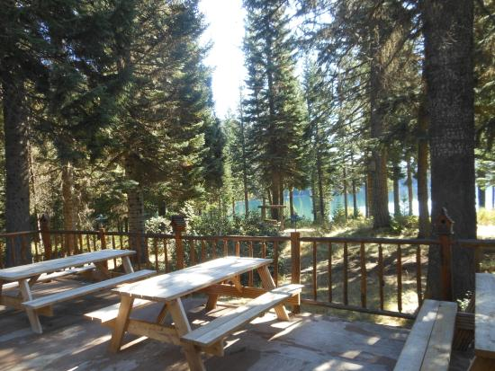 Idleyld Park, OR: Outdoor dining