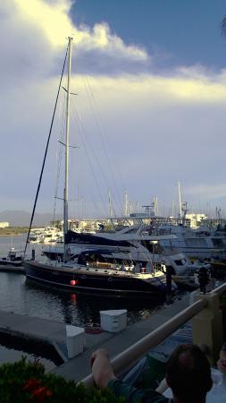 Il Pescatore: A great view of the yachts on the marina