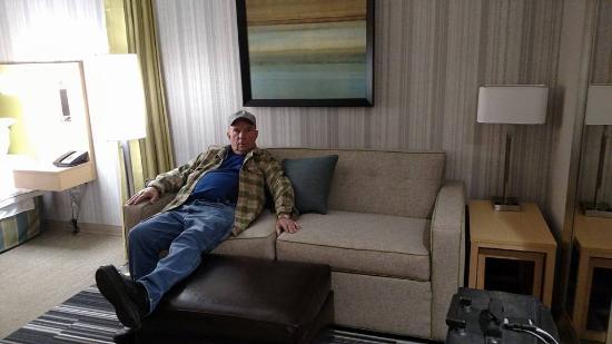 Home2 Suites By Hilton Salt Lake City Murray Ut Super Comfy Living Area