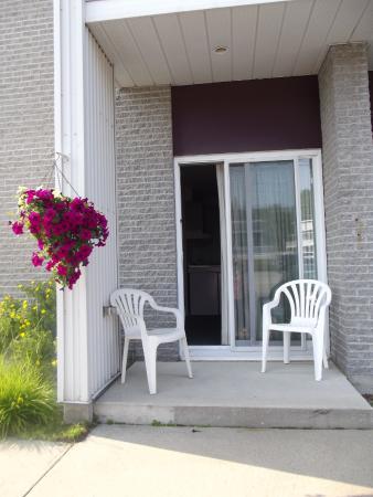 Motel de L'Anse a L'Eau : Terrasse