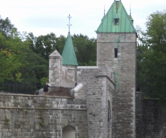 Fortifications of Quebec National Historic Site: Old City Wall