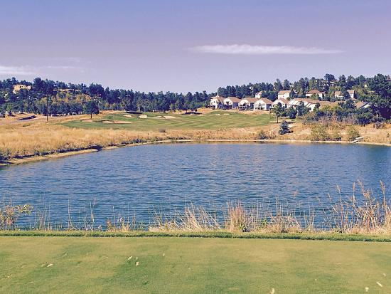 The Ridge at Castle Pines North : # 15 tee