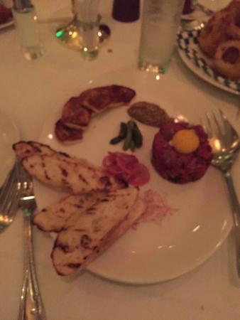 801 Chophouse: Steak tartar