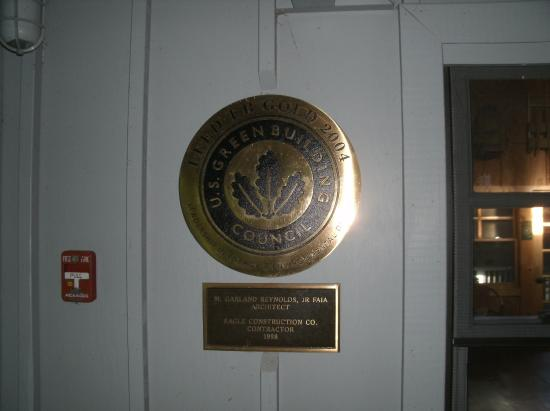 Len Foote Hike Inn: LEED Gold