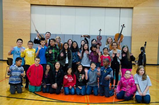 Pacifica Chamber Orchestra: Education and enrichment are part of PCO's mission.