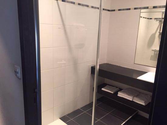 Hotel Le Domaine des Vignes : Shower/sink