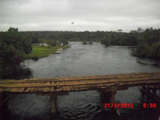 Balneario Do Pubi: Vista do rio Papagaio,no Balneário do pubi