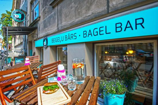 Big Bad Bagels Baznicas street