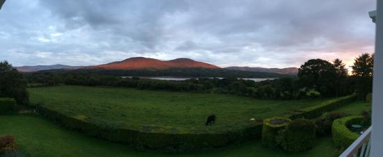 Sea Shore Farm Guesthouse : incredible view from second floor bedroom window of b&b
