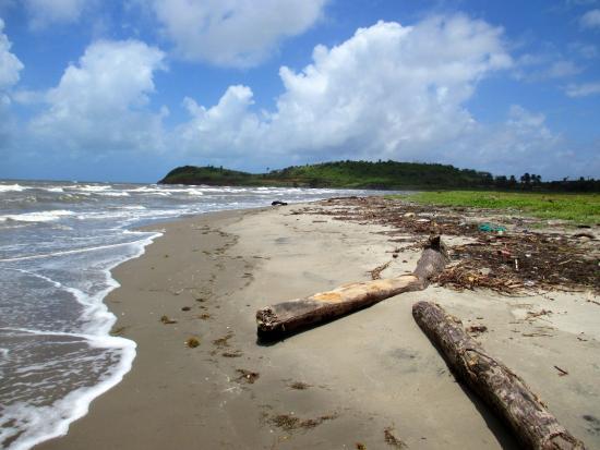 Bluefields, Nicaragua: vista de la playa