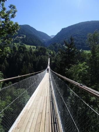 Hangebrucke Furgangen-Muhlebach