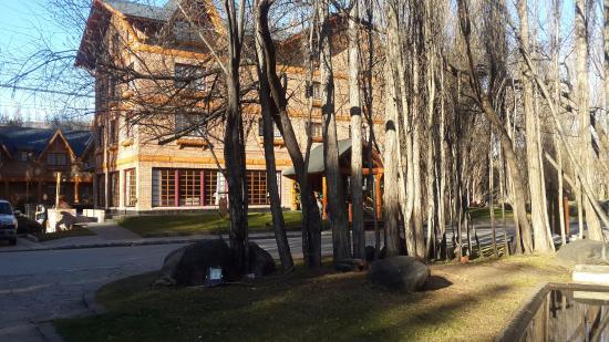 Posada Los Alamos: Viste desde el spa