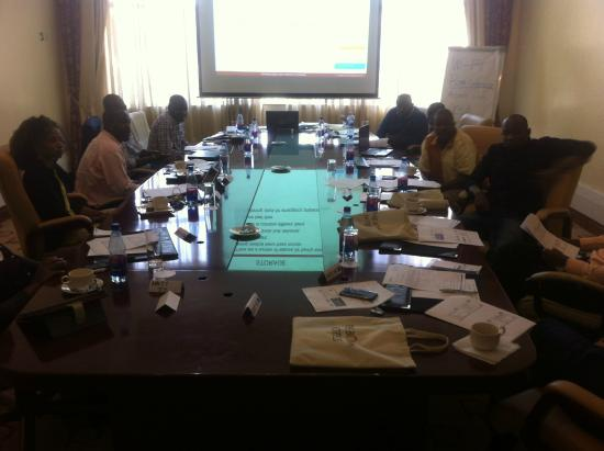 The Boma Nairobi: conference room