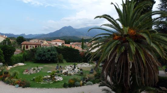 Villa Lafabregue: Vue depuis la terrasse de la chambre