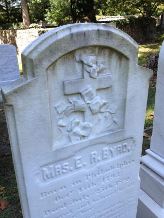 Boyce, Βιρτζίνια: Mrs. E. R Byrd's stone