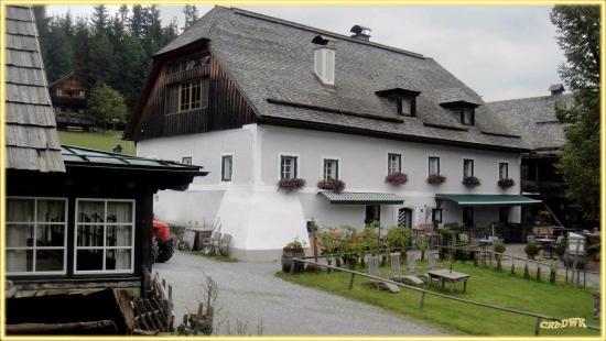 Wirtshaus Steirereck am Pogusch: Der schön hergerichtete Bauernhof, war auch immer schon Gasthof ! (16. JH)