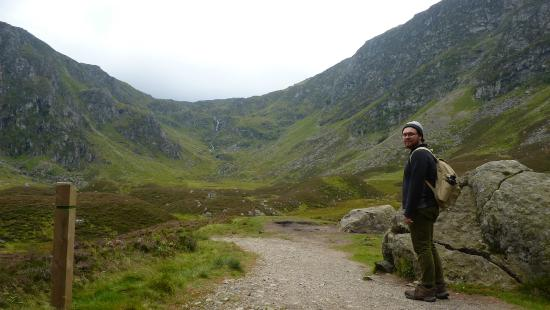Angus, UK: The glen, made after ice age, by a melting glacier