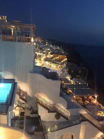 Nefeles Suites Hotel: Vista dalla camera
