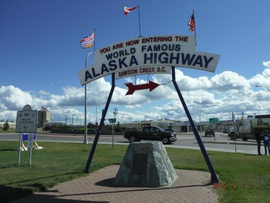 Dawson Creek, Canada: Start Of The Alaska Highway