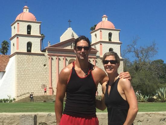 Solvang, Kalifornien: The Mission, thanks Nills for such an awesome ride!