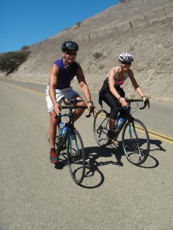 Solvang, Kalifornien: Riding the gorgeous Santa Rosa River Road