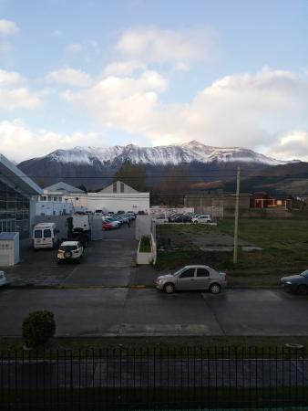 Hosteria Cumbres Blancas: Vista desde la habitación