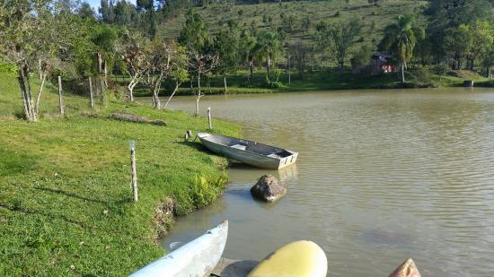 Mata Atlantica Aventura Hotel: o bote