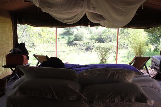 Enkerende Tented Camp: Interior de una tienda