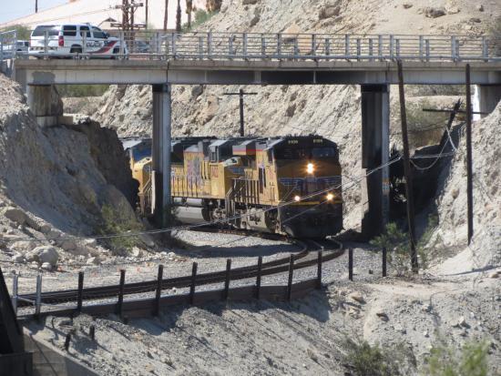 Yuma, AZ: Vista sulla storica ferrovia