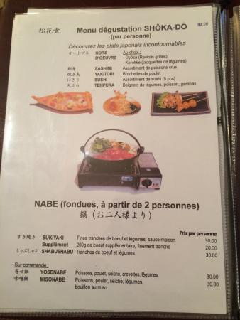 Restaurant Japonais Colmar Soleil Levant