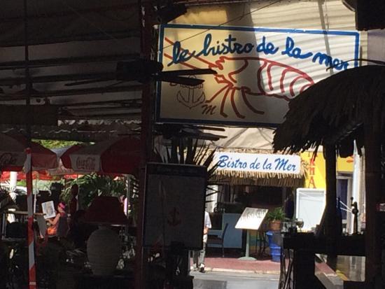 Fácil de llegar cerca de la plaza central en Marigot