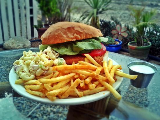 Mama Bear's Pizza: Special, Fried Fish Sandwich