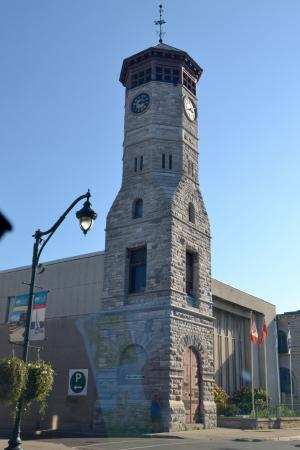 Tower in downtown Trenton