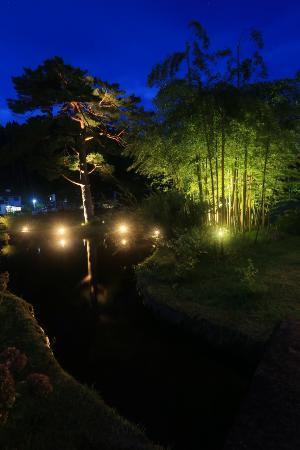 Kaneyama-machi, Japonia: 大堰公園ライトアップ2