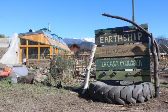Earthship Patagonia Eco Accommodation