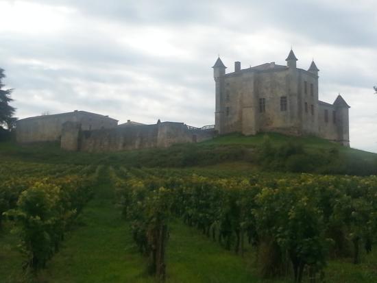 Puisseguin, Frankrijk: A ruin nearby