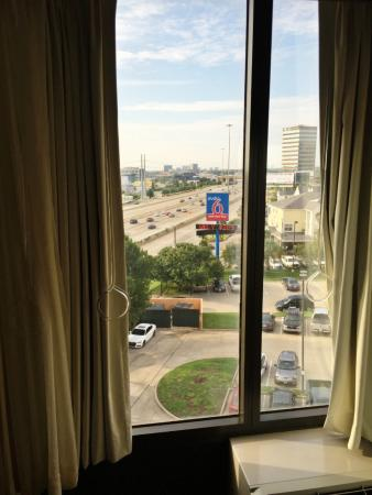 Hyatt Place Dallas / Park Central: Hyatt Place - Dallas Park Central - Room 604 View of Freeway