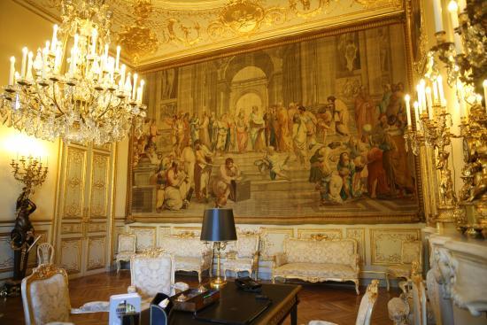 PARIS. Palais Bourbon. Assem. Nationale. Cabinet du Départ.