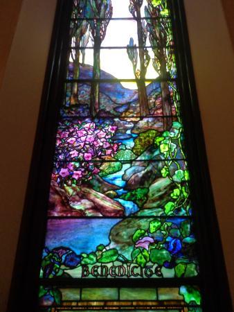 Staunton, VA: My favorite glass window in Trinity Church