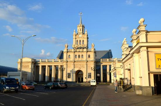 Brest Railway Station Building