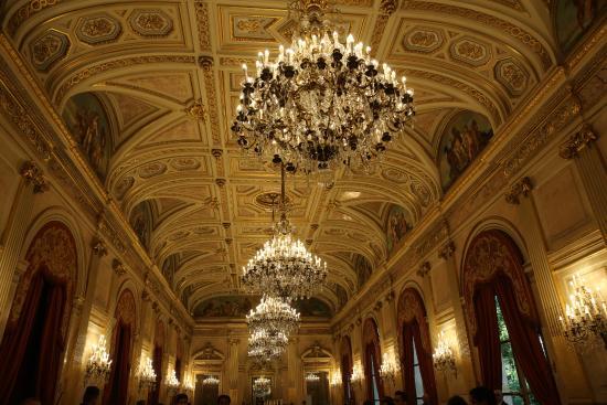 PARIS. Palais Bourbon. Assemblée Nationale. Galereie des Fêtes. Peintures de François-Joseph Hei