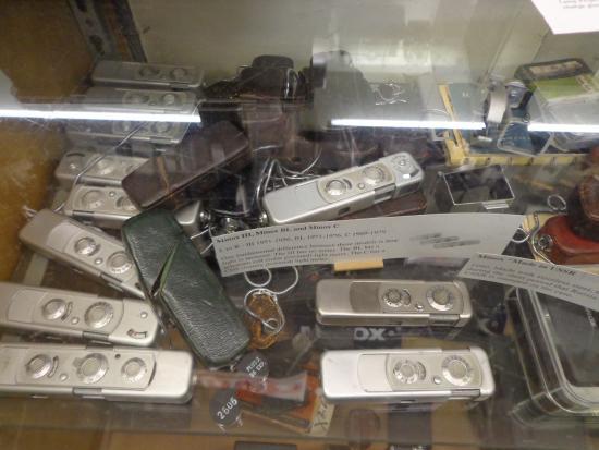 Staunton, VA: Spy cameras used in one of the James Bond movies